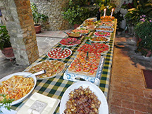 2015 may villa le tori buffet